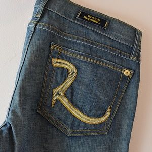 Rock & Republic Light Wash Boot Cut Jeans